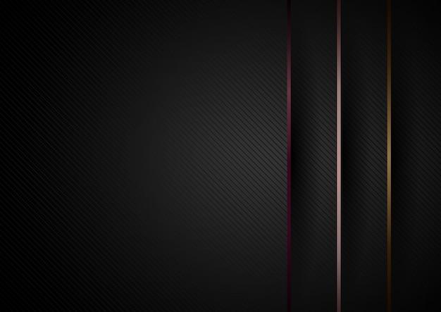 Résumé fond de dimension de couches de papier noir