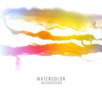 Résumé fond d'écran aquarelle colorée