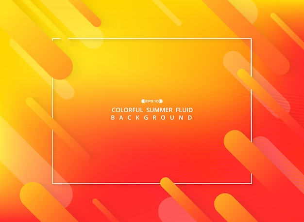 Résumé de fond fluide coloré