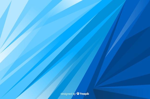 Résumé de fond de formes bleues