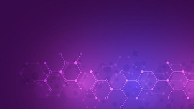 Résumé fond de molécules