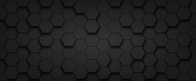 Résumé de fond motif hexagone