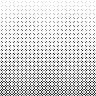 Résumé fond pointillé demi-teinte modèle vectorielle continue de petits pois noirs
