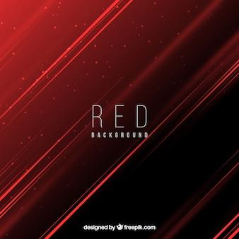 Résumé fond rouge