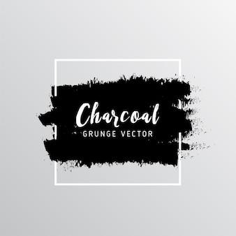 Résumé fond de texture du charbon de bois