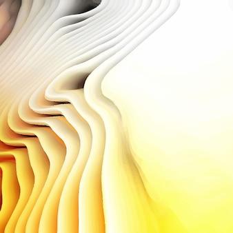 Résumé fond vague jaune
