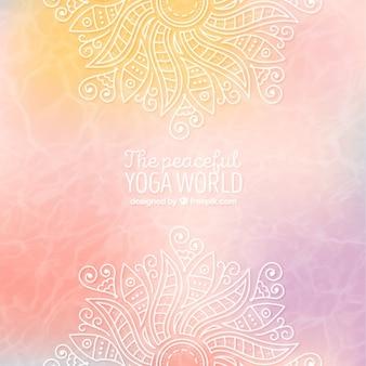 Résumé de fond de yoga