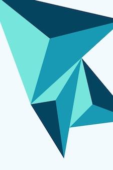 Résumé, formes bleu marine, grotte bleue, bleu vert, fond d'écran fond illustration vectorielle .