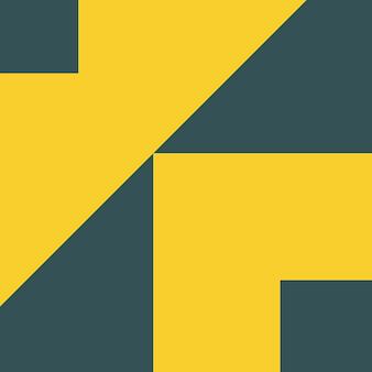 Résumé, formes, charbon de bois, illustration vectorielle de fond d'écran jaune