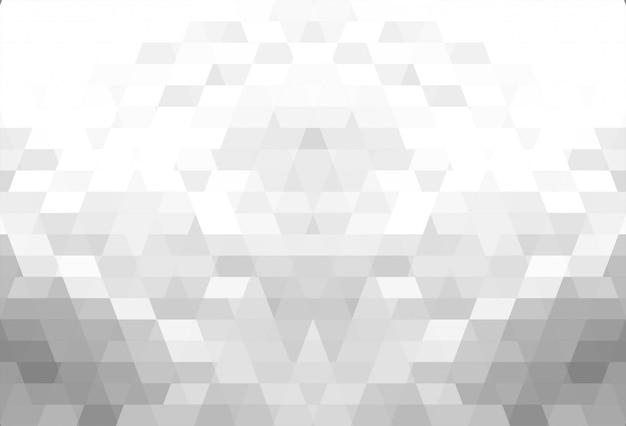 Résumé des formes géométriques grises beau fond