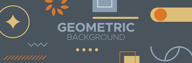 Résumé, formes, motif géométrique, design, coloré, multicolore, charbon de bois, or, fond d'écran dégradé orange