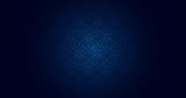Résumé, formes, peinture, design, ligne, lumière, bleu foncé, fond d'écran dégradé bleu