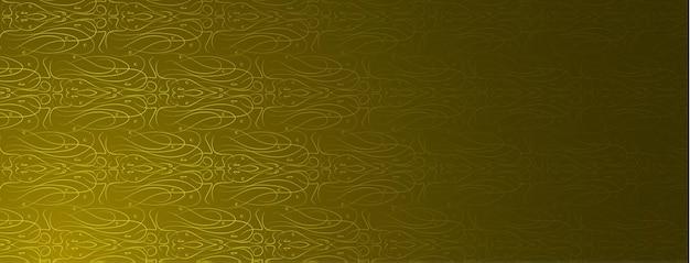 Résumé, formes, peinture, design, motif, ligne, jaune, noir, fond d'écran dégradé or illustration vectorielle