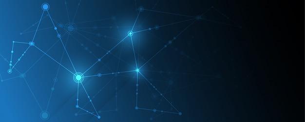 Résumé historique reliant les points d'innovation et le concept de communication en ligne