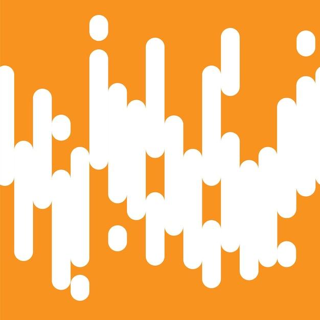 Résumé des lignes de couleur orange transparente de fond. illustration vectorielle
