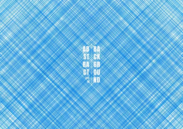 Résumé lignes rayées bleues strie fond diagonal