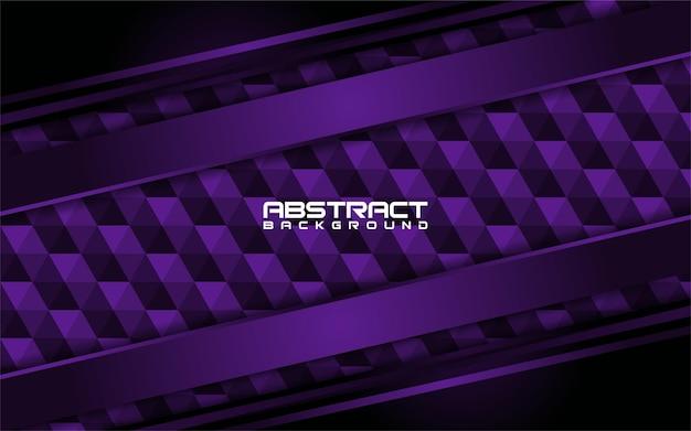 Résumé des lignes violet foncé avec la conception de fond de forme
