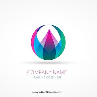 Résumé logo coloré
