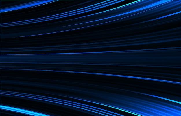 Résumé de lumière bleu foncé. mouvement de mouvement