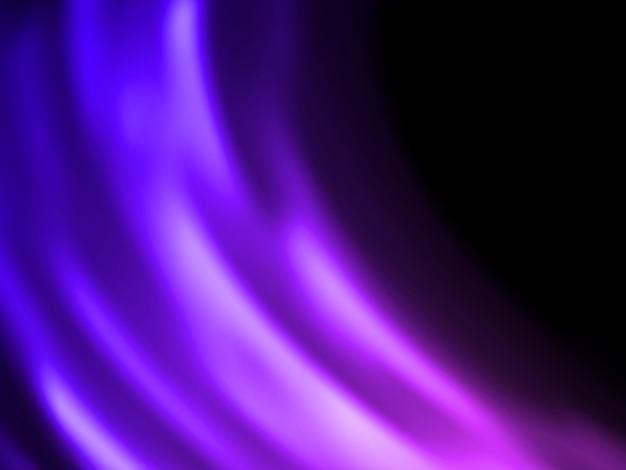 Résumé des lumières fond violet.