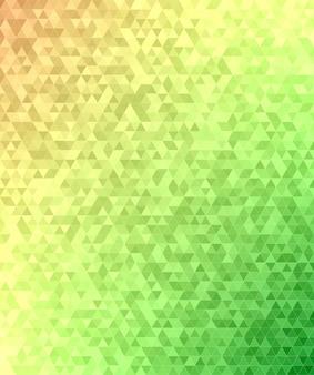 Résumé de la mosaïque du triangle mosaïque