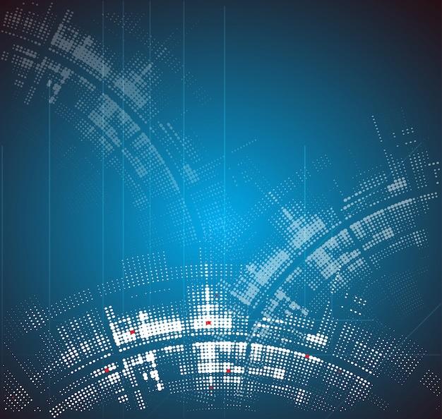 Résumé nouvelle technologie dynamique fondu au fond