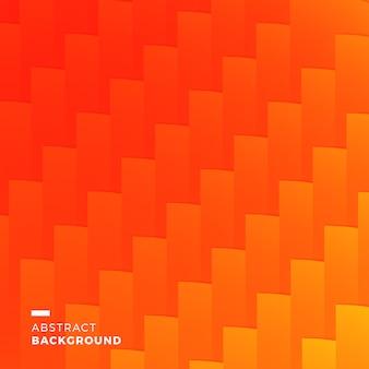 Résumé orange background