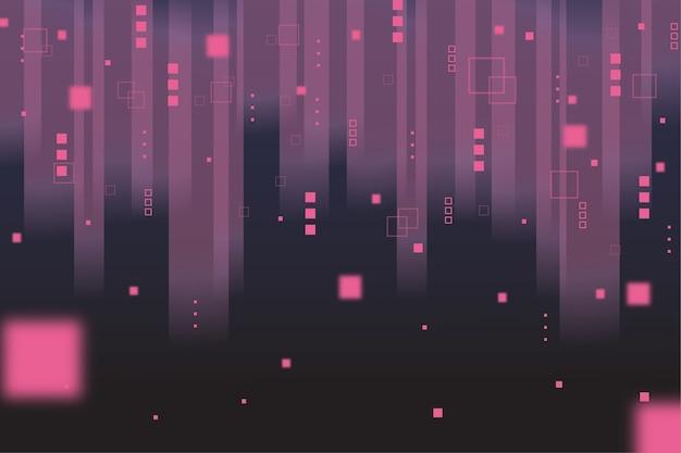 Résumé pixel pluie fond