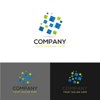 Résumé technologie de conception de logo