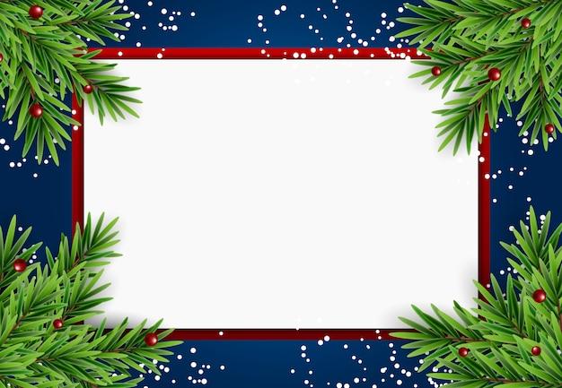 Résumé de vacances nouvel an et joyeux noël fond