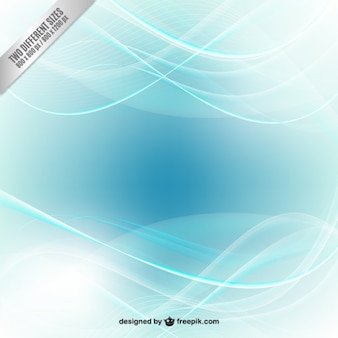 Résumé vagues de fond dans les tons bleus