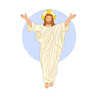 Résurrection de pâques de jésus-christ
