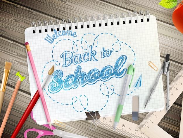 Retour au concept de l'école.