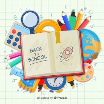 Retour au fond de l'école