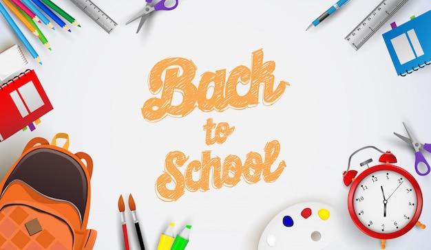 Retour au fond d'école