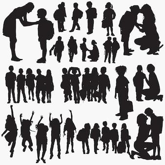 Retour au jeu de silhouettes