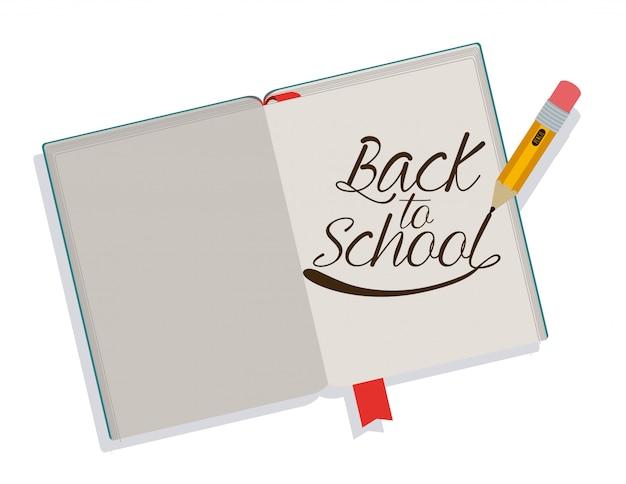 Retour au livre d'école
