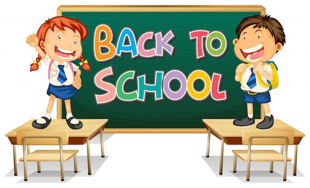 Retour au modèle d'école avec l'élève