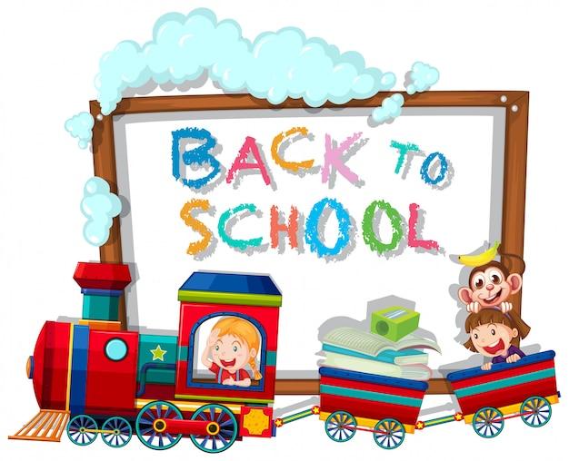 Retour au modèle d'école avec des enfants