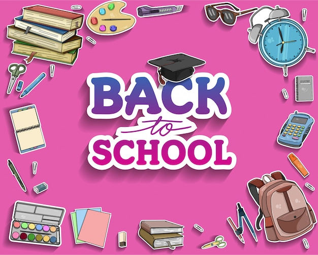Retour aux accessoires d'école