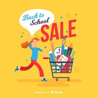 Retour aux ventes de l'école