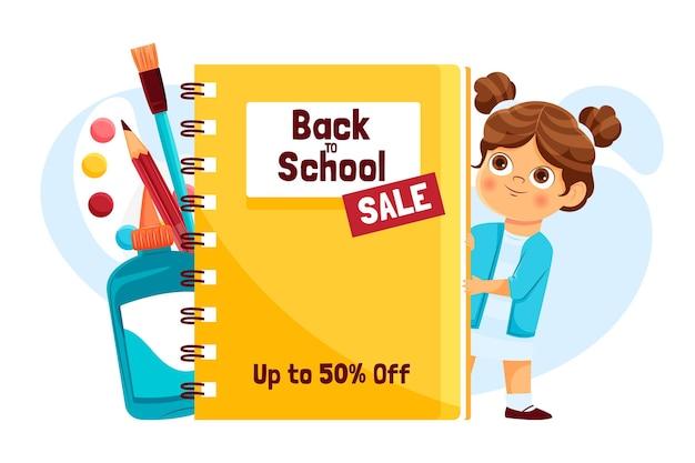 Retour aux ventes scolaires