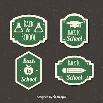 Retour à la collection d'étiquettes de l'école