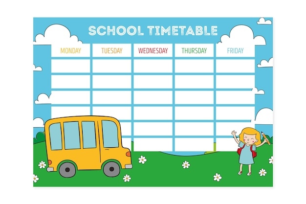 Retour à la conception du calendrier scolaire