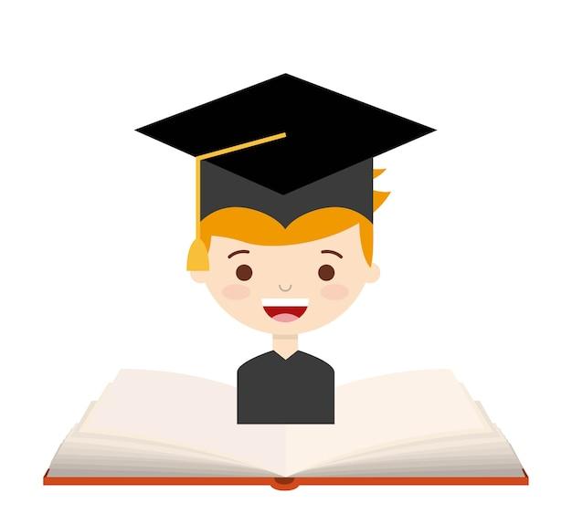 Retour à la conception de l'école, illustration vectorielle illustration eps10