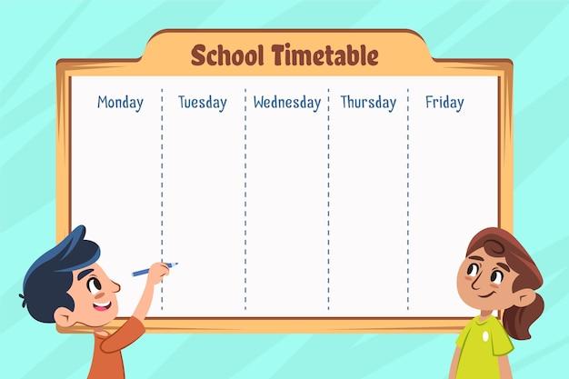 Retour à la conception plate du calendrier scolaire