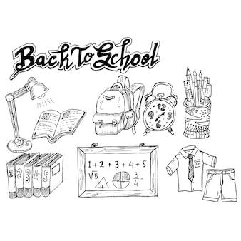 Retour à l'école, doodle