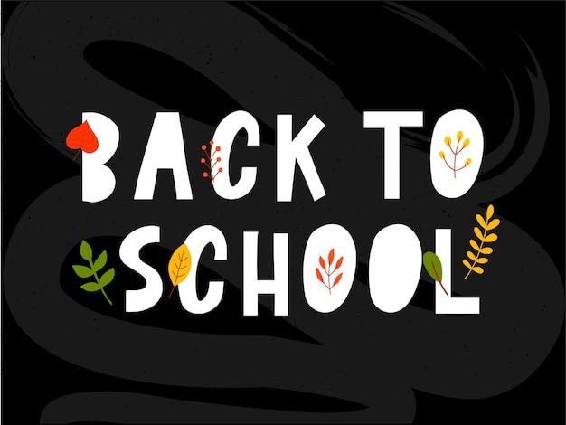 Retour à l'école doodles sommaires avec illustration vectorielle dessinés à la main