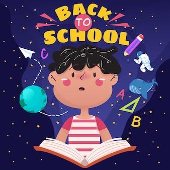 Retour à l & # 39; école illustration