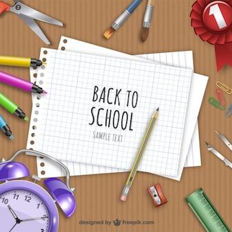 Retour à l'école illustration
